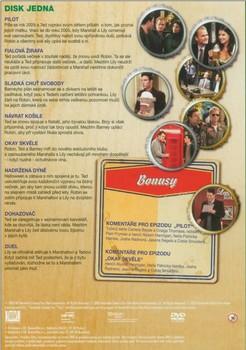Zadní strana 1. DVD