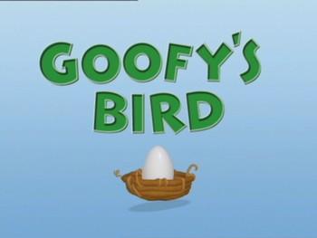 Goofyho ptáčátko