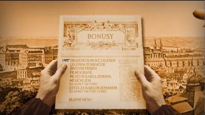 Bonusová výbava DVD