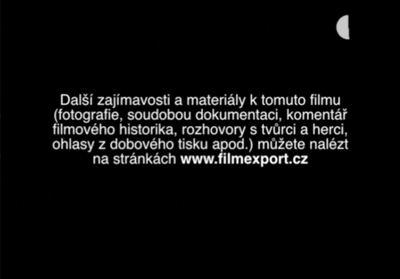 Místo bonusů text před spuštěním filmu